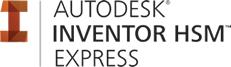 Logo Autodesk Inventor HSM Express