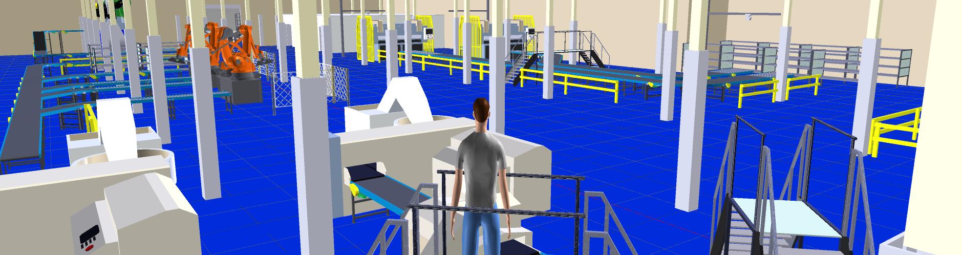 Banner Fabrikplanung mit Autodesk