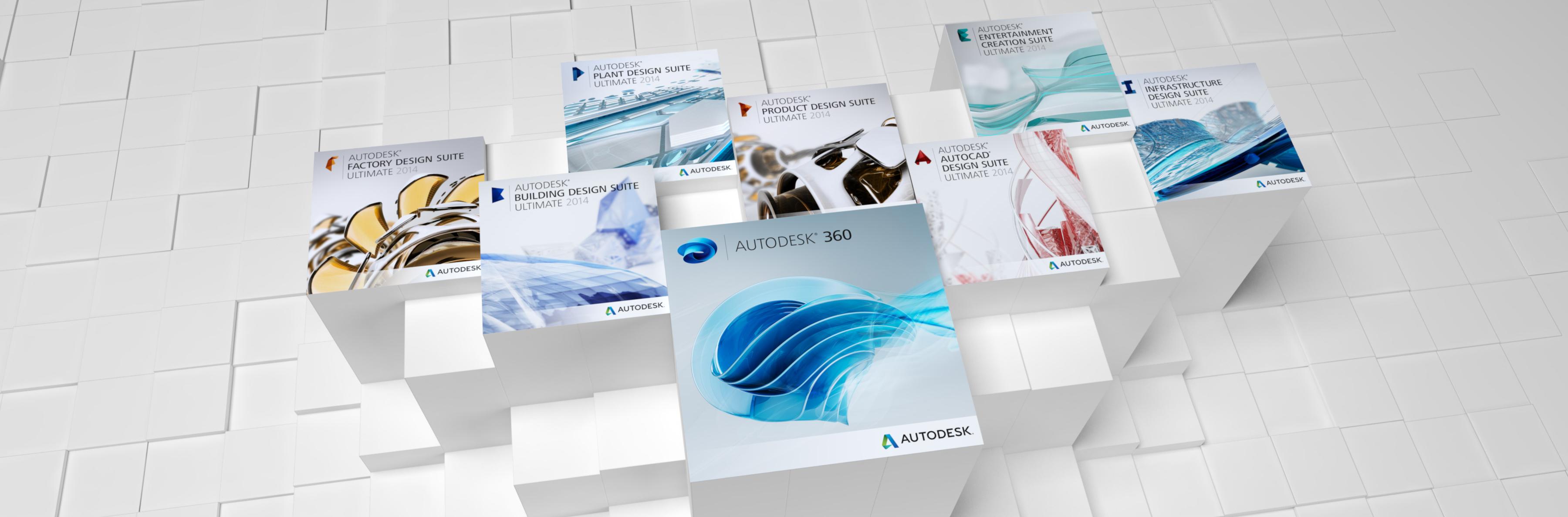 Autodesk Design and Creation Suites